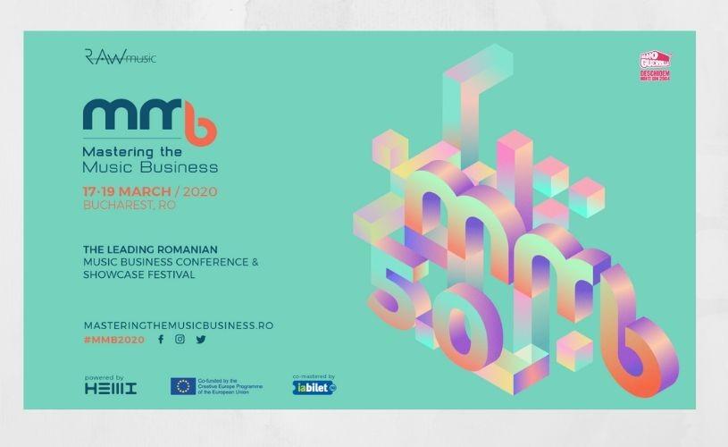 Conferința Mastering the Music Business programată pentru 17-19 martie 2020 se suspendă