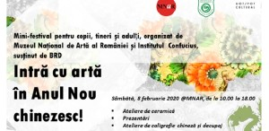 Artă și cultură orientală, la MNAR. Intră cu artă în Anul Nou chinezesc!