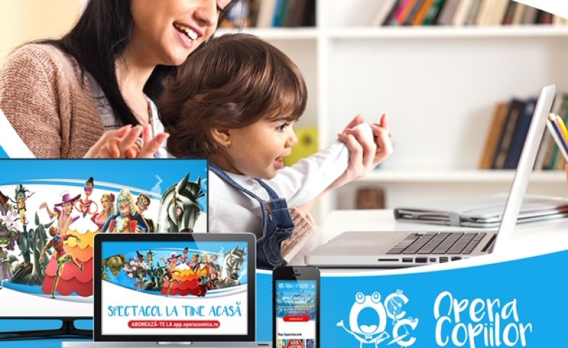 Opera Comică pentru Copii a lansat aplicația Opera Copiilor