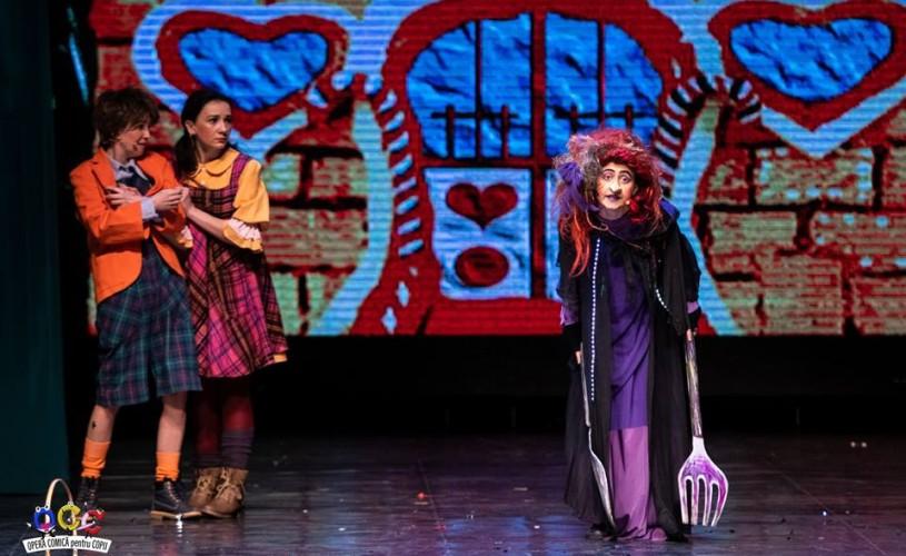 Aplicație de vizionare spectacole și evenimente de la Opera Comică pentru Copii