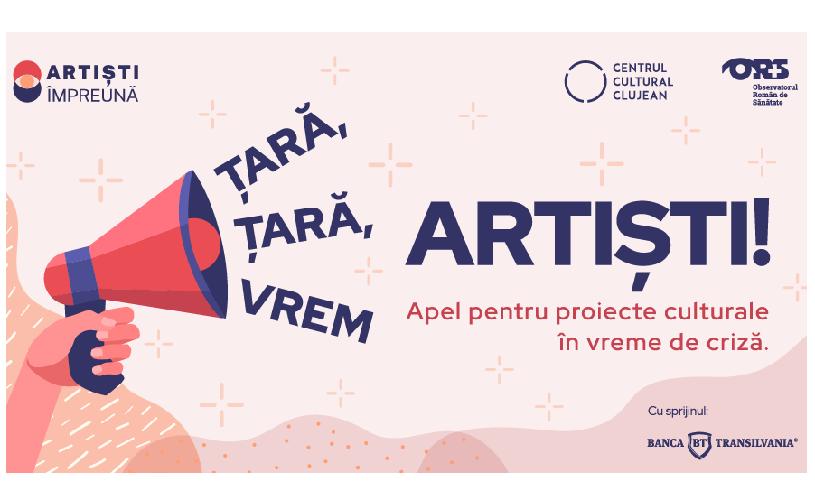 Artiști Împreună în luptă cu pandemia