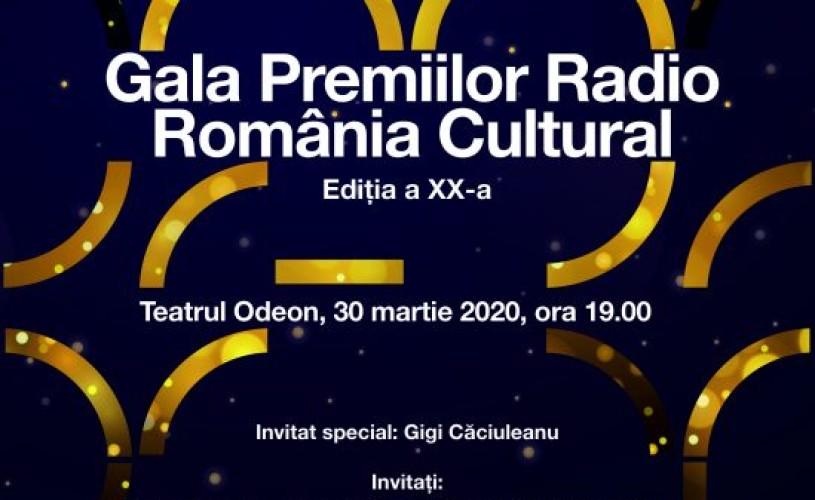 Nominalizările la Gala Premiilor Radio România Cultural 2020