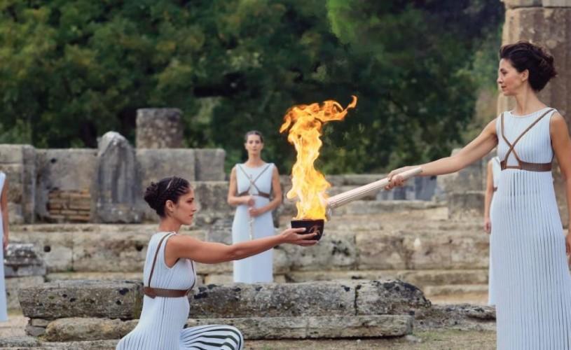 Flacăra Olimpică se aprinde pe 12 martie. La TVR 1 vezi în direct ceremonia de la Templul Hera din Grecia