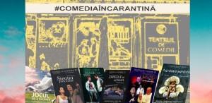 Teatrul de Comedie sărbătorește online Ziua Mondială a Teatrului