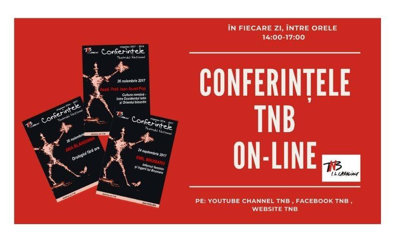 Gratuit, online: Conferințele Teatrului Național: 40 de conferințe din perioada 2006-2019