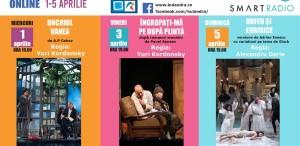 Teatrul Bulandra difuzează online trei spectacole celebre!