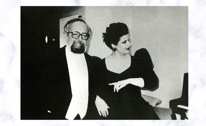 "Mariana Nicolesco: S-a stins, la 86 de ani, marele compozitor Krzysztof Penderecki. ""Adio Krzysztof, adio…"""