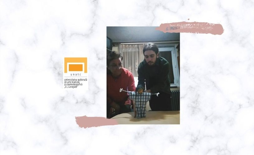 VIDEO Arta mânuirii păpușii la UNATC