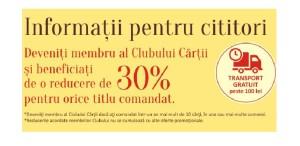 Editura Polirom vă invită în Clubul Cărții