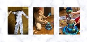 Proiect din cadrul modulului de păpuși realizat de: Ioana Sandu, Alexandra Brânză și Bianca Ciuche