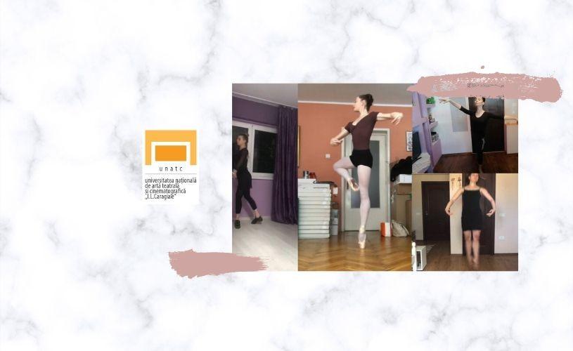 VIDEO Curs de Practică de Specialitate Dans Clasic, susținut online