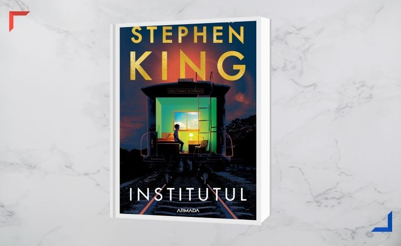 Cel mai nou roman al lui Stephen King – Institutul – apare în Armada powered by Nemira