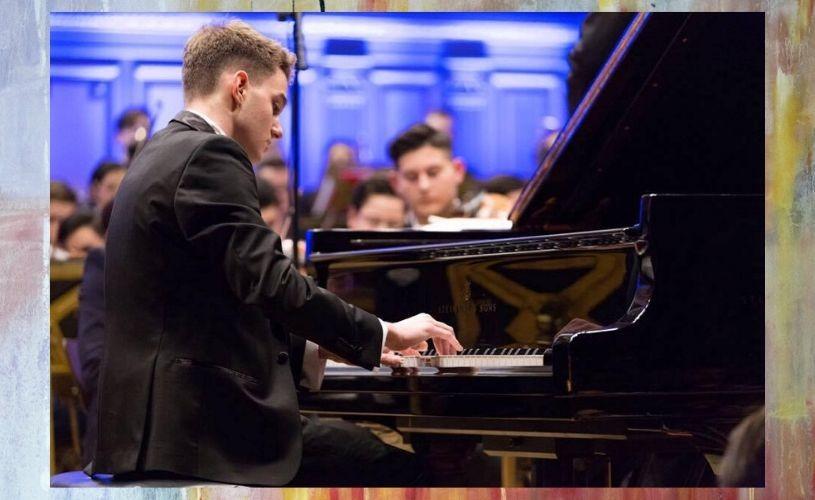 """Luca Rusu, student la pian alRoyal Conservatoire of Scotland:""""Cred în puterea muzicii clasice de a schimba oamenii"""""""