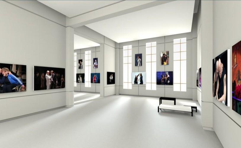 """""""Touching"""", prima expoziție de fotografie de teatru vernisată în spațiu virtual 3D"""