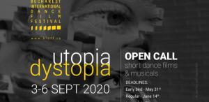Bucharest International Dance Film Festival lansează înscrierile pentru cea de-a șasea ediție