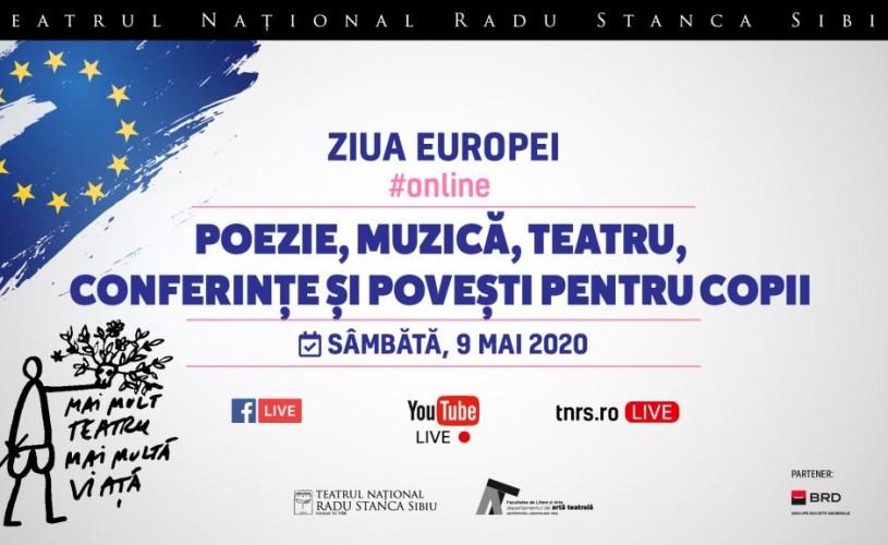 """Teatrul Național """"Radu Stanca"""" Sibiu celebrează Ziua Europei online"""