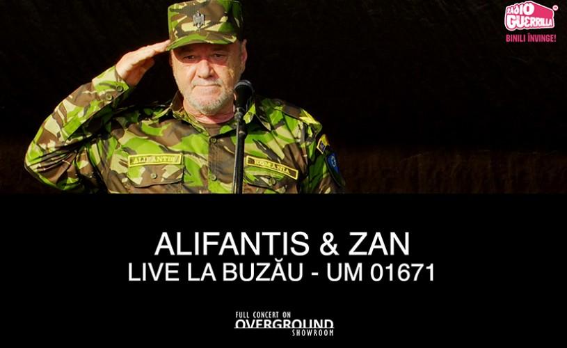 Nicu Alifantis & ZAN, premieră pe Overground Showroom