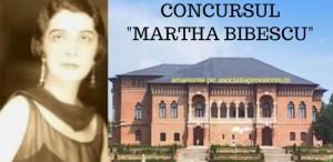 """Concurs de literatură """"Martha Bibescu"""""""