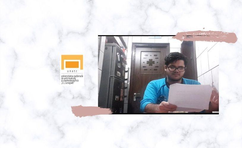 """VIDEO Cursul """"Sisteme de educare a mijloacelor de expresie"""", la UNATC"""
