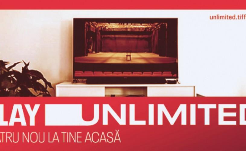 Spectacole de teatru la TIFF UNLIMITED