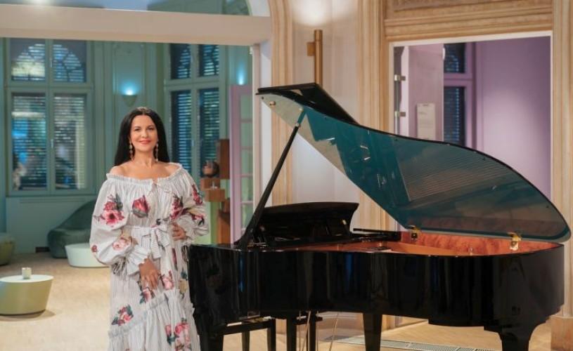 Soprana Angela Gheorghiu, în recital LIVE la București