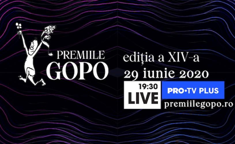 Gala Premiilor Gopo: 29 iunie, ora 19:30, LIVE pe PRO TV PLUS și premiilegopo.ro
