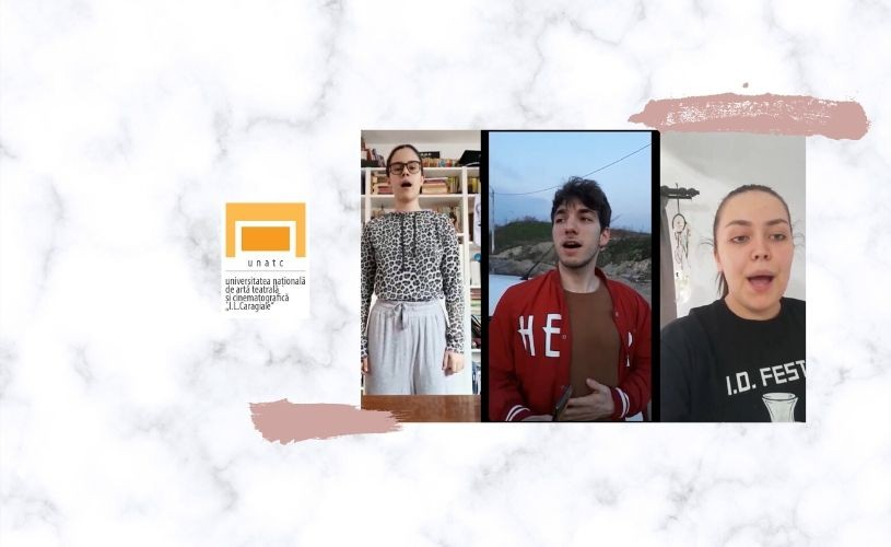 VIDEO Actorie Anul 1 – Curs Tehnică Vocală, UNATC