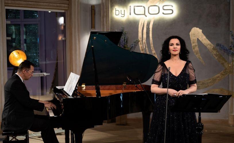 Peste 2500 de români au urmărit online recitalul susţinut de Angela Gheorghiu