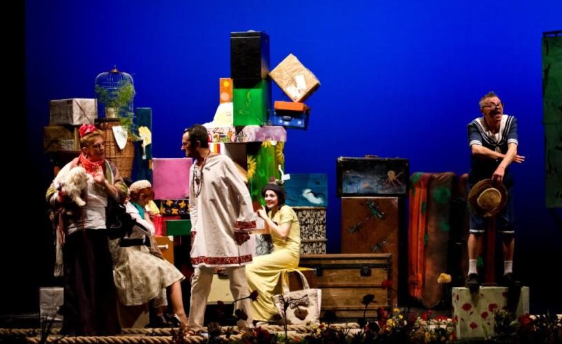 """Mari spectacole @ODEON – """"C.F.R. – Cometa, Copilul și Cățelul"""", regia: Alexandru Dabija"""