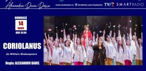 """Alexandru Darie și """"Coriolanus"""" pe scena online a Teatrului """"Bulandra""""!"""