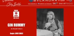 "Săptămâna Clody Bertola online la Teatrul ""Bulandra"""