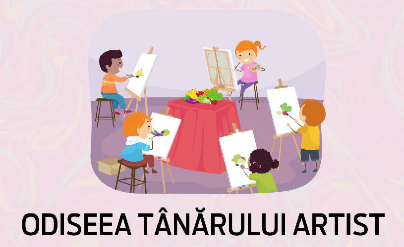 Începe cel mai mare concurs din țară dedicat copiilor talentați la artă!