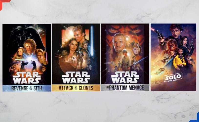 Colecția de filme Star Wars / Războiul Stelelor, în iulie pe HBO GO