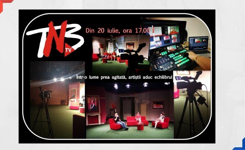 Din 20 iulie puteți accesa on-line TNB-TV