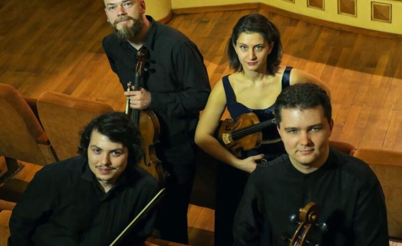 """Cvartetul  ARCADIA deschide Festivalul Internațional """"Enescu și muzica lumii"""" la Sinaia"""