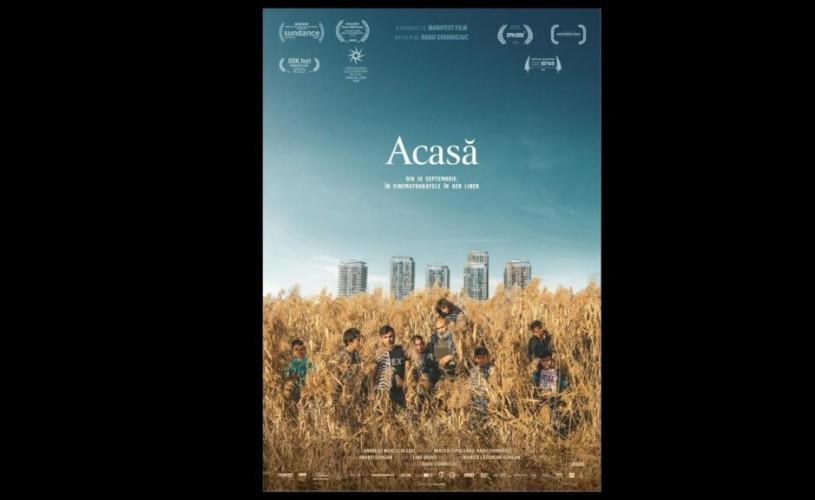 """""""Acasă"""", debutul regizorului Radu Ciorniciuc, din septembrie pe marile ecrane în aer liber"""