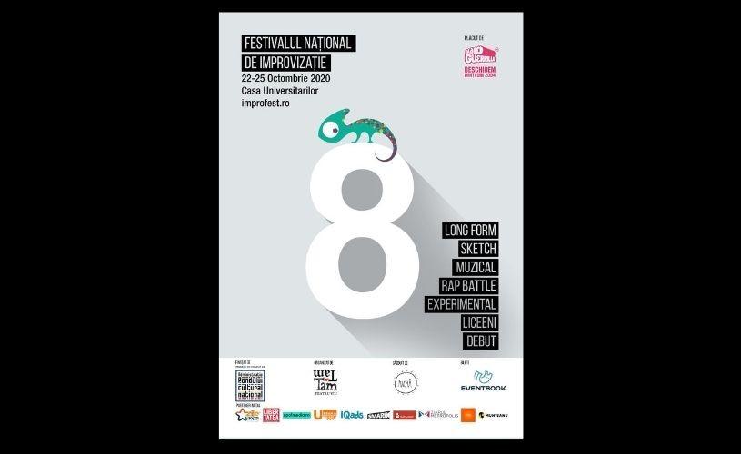 Festivalul Național de Improvizație revine la București
