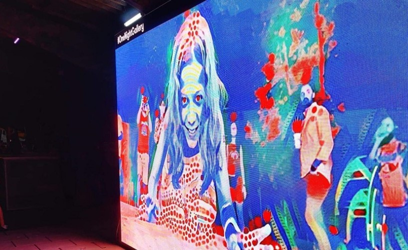 """Instalația de artă și inteligență artificială """"Fii un tablou viu"""" poate fi vizitată gratuit la Muzeul Copiilor"""