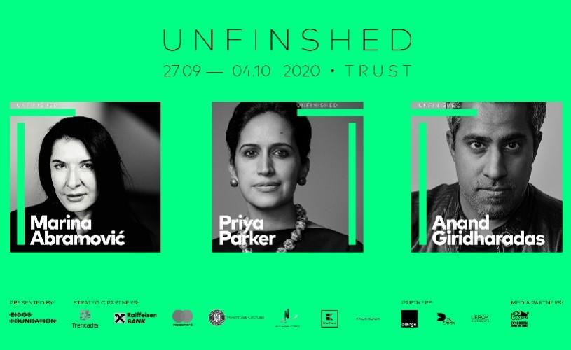 Începe Unfinished 2020: peste 60 de speakeri, din 21 de țări din întreaga lume