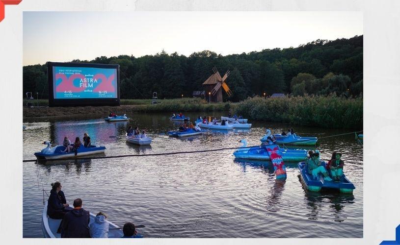 """Filmul """"Transalpina, drumul regilor"""" aplaudat din bărci, minute în șir, la Astra Film Festival"""