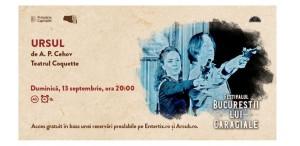 Penultimul weekend de teatru în Cișmigiu