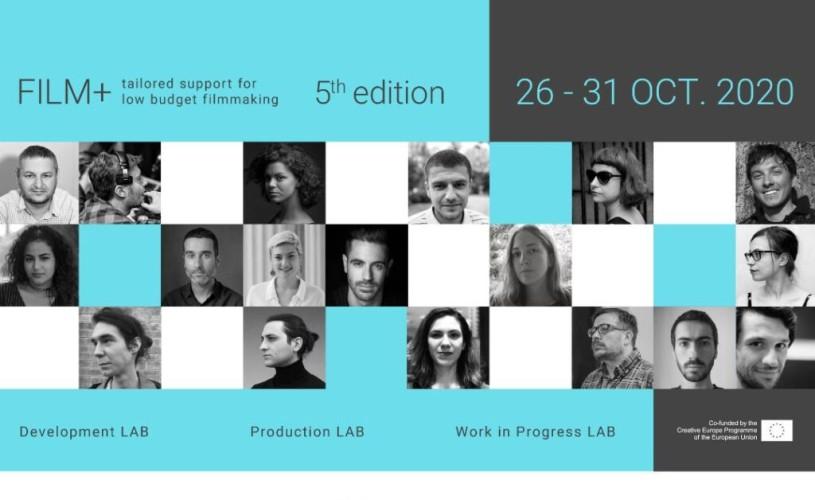 Rezidența FILM+ online: 5 zile de ateliere și sesiuni de lucru cu cineaști români de prestigiu