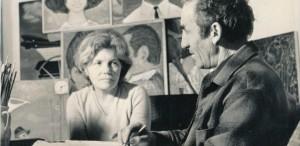 Valentina Ciobanu Rusu, omagiată într-o expoziție la împlinirea a 100 de ani