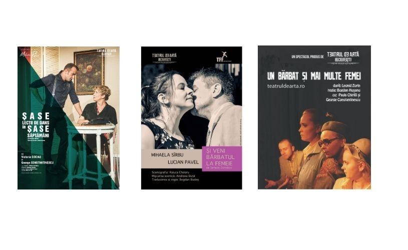 Trei spectacole ale Teatrului de Artă București se văd, în toamna aceasta, și pe scena Teatrului Nottara