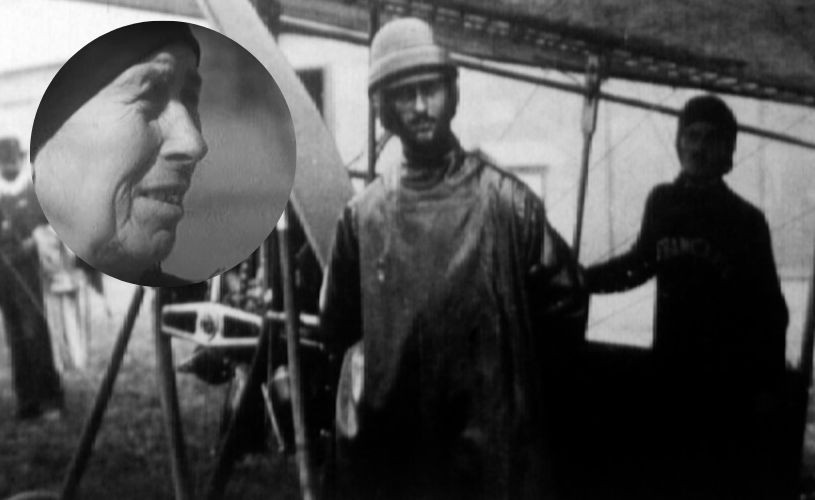 """Sora lui Aurel Vlaicu, prima """"aviatoare din lume"""""""