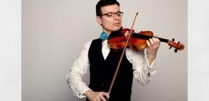 Mozart cântat pe vioara Stradivarius Elder-Voicu  și Beethoven interpretat pe vioara lui Enescu