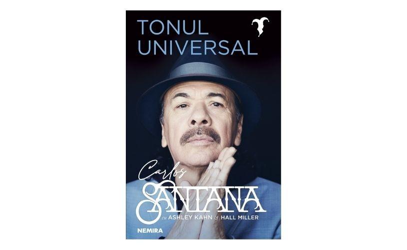 Editura Nemira lansează autobiografia legendarului muzician Carlos Santana