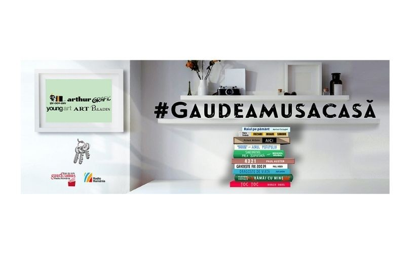 #GaudeamusAcasă. Salon de carte la tine acasă: 16 – 22 noiembrie 2020