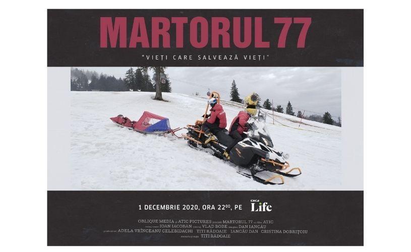 MARTORUL 77, un documentar despre Vieți care salvează vieți