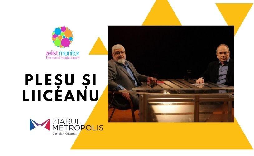 Săptămâna 26 octombrie-1 noiembrie în Social Media. Ziarul Metropolis, cu Pleșu și Liiceanu în top 10 viral